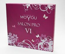 MoYou Nails Salon Pro VI Fingernail & Toe Manicure Pedicure Nail Art Kit