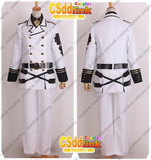 Seraph of the End Mikaela Hyakuya cosplay costume white Only jacket