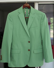 Brooks Brothers 1818 Fitzgerald Green Cotton Sport Coat 40s NWOT New Without Tag