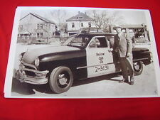 1950 FORD YELLOW CAB TAXI   BIG  11 X 17  PHOTO PICTURE