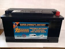 12V 110AH Leisure / Marine Battery Low Height / Low Profile