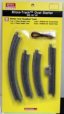 Z Scale - MICRO-TRAINS MTL 990 40 101 Oval Starter Pack Track Set with Roadbed