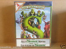 Shrek: The Whole Story (Blu-ray Disc, 2010, 4-Disc Set, Canadian)