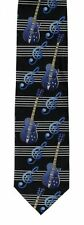 Music Birthday Gift Christmas Musical GUITAR NECK TIE TEACHER PRESENT MUSICIAN