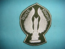 NAM WAR GR PATCH, US 1st LIFT PLT WHITE  KNIGHTS 114th ASSAULT HELICOPTER CO.
