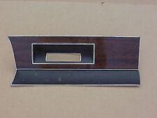 1975 Plymouth Valiant Dodge Dart NOS MoPar Woodgrain DASH BEZEL Radio Delete