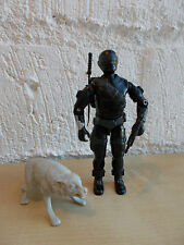 GI Joe Snake Eyes with Timber v2!! 100% Complete!! 1985 by Hasbro! G.I. Joe