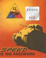 CD-File 12th Armored Division Speed is the Password + Hellcat News 1944 Barkley