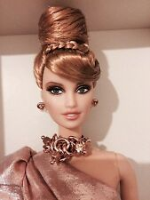 platinum label, Rush of Rose Gold barbie, NRFB with Shipping box