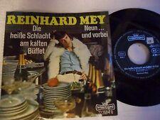 Reinhard Mey – Die Heiße Schlacht Am Kalten Büffet - Single 1968 D - Intercord