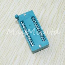 High Quality 24-pin 24 Pins Test Universal ZIF IC Socket 1Pcs New Practical AUL
