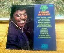 """""""Percy Sledge"""" signed album """"The Best Of Percy Sledge""""(When A Man Loves A Woman)"""
