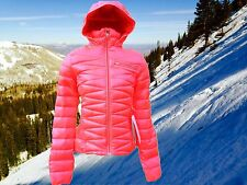 Spyder Womens XS Timeless 700 Fill Down Insulated Ski Hoodie Jacket Nwt $230