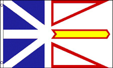 3x5 Newfoundland and Labrador Canadian Province Flag 3'x5' Banner Brass Grommets