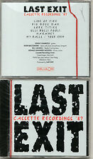 Super RARE Cassette Recordings '87 by Last Exit CD Celluloid Laswell NEW SEALED