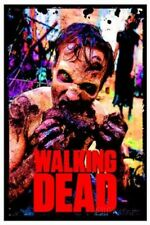 The Walking Dead Zombie TV Blacklight Poster Blacklight Poster Print, 23x35