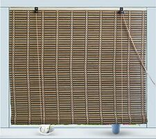 "Bamboo Roll Up Window Blind Sun Shade W42"" x H72"""