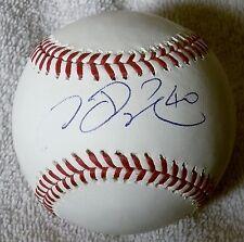New York Yankees Chien-Ming Wang Signed Rawlings Major League Baseball Auto
