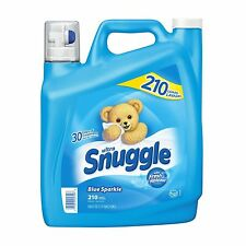 Snuggle Blue Sparkle Fabric Softener (210 Loads Free Shipping NEW