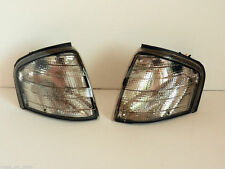 MERCEDES C-CLASS (W202) 1993-2001 FRONT INDICATOR LIGHTS PAIR SMOKED LENS SET