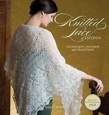 Knitted Lace of Estonia with DVD : Techniques, Patterns, and T (FREE 2DAY SHIP)