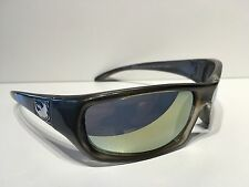 Dragon Chrome Sunglasses Speed Graphite Frame Yellow Flash Lens 720-2275 New