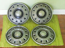 "68 69 Dodge 14"" HUB CAPS Set of 4 Wheel Covers 1968 1969 Hubcaps"