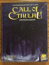 Call of Cthulhu: Keeper Rulebook 7th Edition by Chaosium