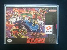 Teenage Mutant Ninja Turtles IV: Turtles in Time - SNES - NO GAME INCLUDED