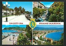 Diano Marina ( Imperia ) : Saluti da ... - cartolina non viaggiata anni '70