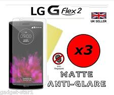 3x HQ MATTE ANTI GLARE SCREEN PROTECTOR COVER LCD GUARD FILM FOR LG G FLEX 2