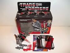 UNUSED 1985 G1 Transformers Dinobot **SWOOP** 100% Complete Box C9 Near Mint