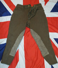 "HOUSEHOLD CAVALRY NO2 DRESS RIDING BREECHES - Waist: 28"" , British Army Issue"