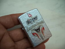 "ZIPPO LIGHTER ""AMERICAN CLASSIC PLACCA""  NEW NUOVO"
