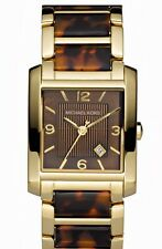 AUTH MICHAEL KORS Women's Brown Tortoise Shell and Gold Tone Watch MK4242