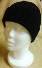 Mens Winter Warm Black Ski Hat Cap Beanie New