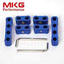 Wire Separator Drive Clamp Kit Engine Spark Plug Wire For 7mm 8mm 6pcs BL