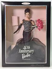 1999 BARBIE CONVENTION 40TH ANNIVERSARY DOLL RARE BRUNETTE SIGNED NRFB
