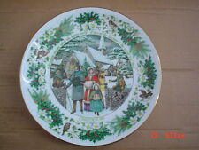The Womans Weekly Collectors Christmas Plate A VICTORIAN CHRISTMAS 1985