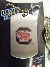 South carolina Gamecocks dawg tagz necklace licensed collegiate ncaa sport 49535