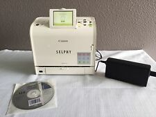 Canon SELPHY ES2 Digital Photo Thermal Printer With Adapter, CD, And Photos!