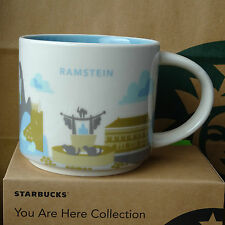 Starbucks City Mug Tasse Becher You are here YAH Ramstein Deutschland 14oz NEU