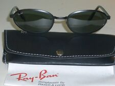 1980's VINTAGE B&L RAY BAN USA BLACK SIDESTREET METAL G15 UV CATS SUNGLASSES NEW