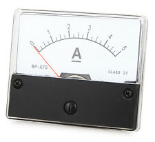 Instrument de mesure 0 - 5 A DC à l'installation, installation instrument de mesure, analogique ampèremètres