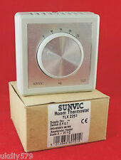 Sunvic Room Thermostat TLX2251 24V SPST (Ref: 1)