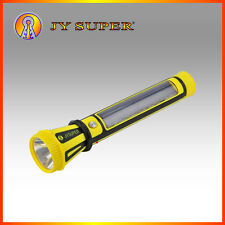 High Power Rechargeable LED Torch Light Solar JY Super White Light Torch JY-9797