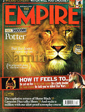 EMPIRE #198 12/2005 LION ASLAN Narnia HARRY POTTER Cameron Diaz MONICA BELLUCCI