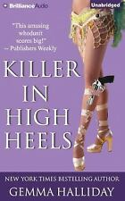 High Heels Mysteries: Killer in High Heels 2 by Gemma Halliday (2014, CD,...