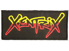 "Xentrix Thrash Metal Embroidered Iron On Patch Badge 4""/10m"
