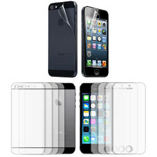5X Anti-Scratch Full Screen Clear Protector Film Front and Back for iPhone 5S 5
